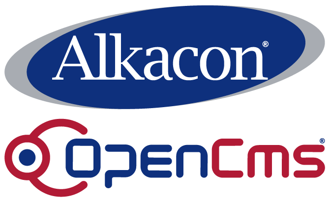 Alkacon and OpenCms logo